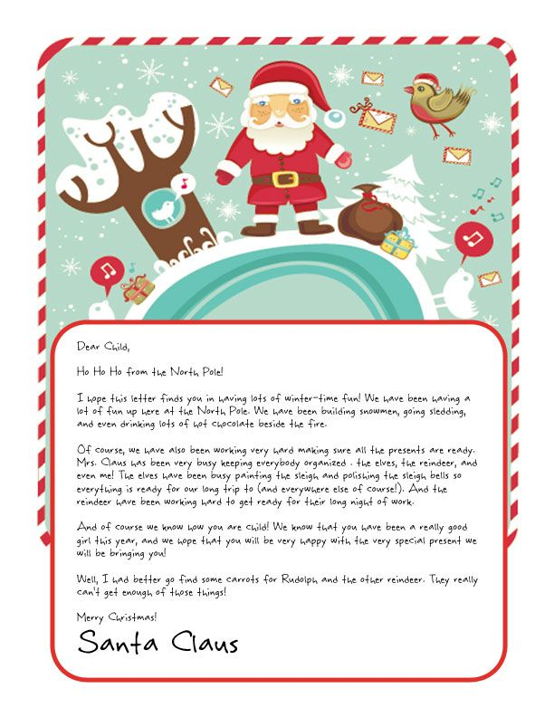 44 best Christmas Keepsakes images on Pinterest Xmas, Christmas - christmas letter format
