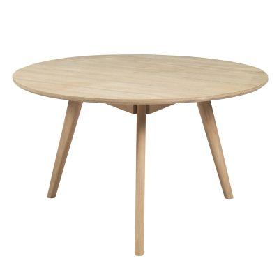 Nordik soffbord i vitoljad ek från Select21. Ett enkelt och modernt bord med skandinavisk desig...