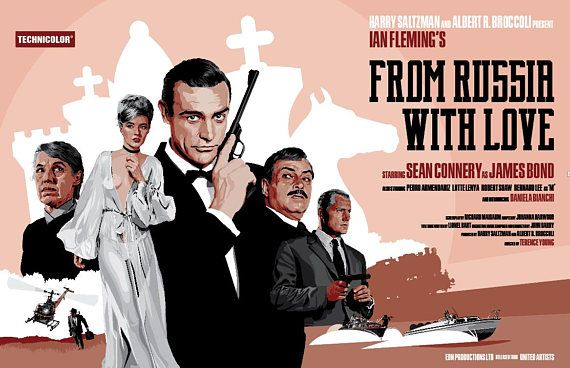 James Bond 007 From Russia With Love Sean Connery Fan Art 17