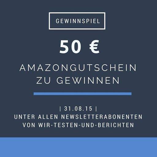 Gewinne einen 50 € Amazongutschein
