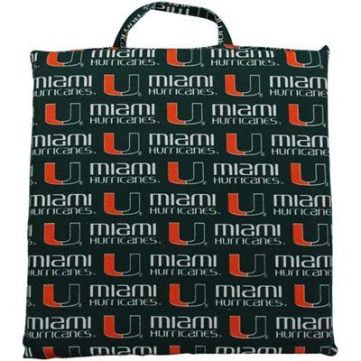 Miami Hurricanes Game Day Cushion