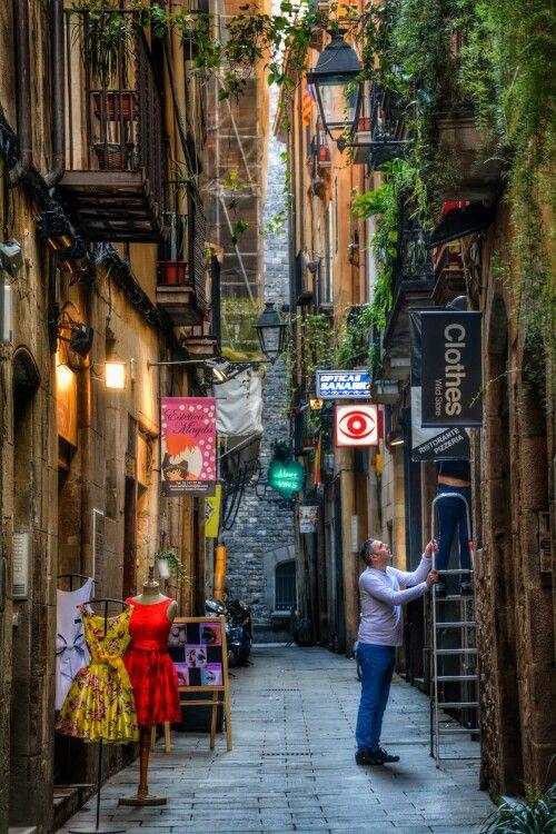 Ciutat Vella - Barcelona Catalonia