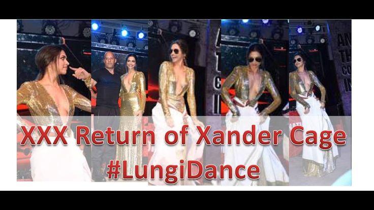 XXX Return of Xander Cage – Deepika Padukone and Vin Diesel did #LungiDance