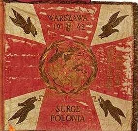 Banner of the 1st Polish Independent Parachute Brigade - Sosabowski