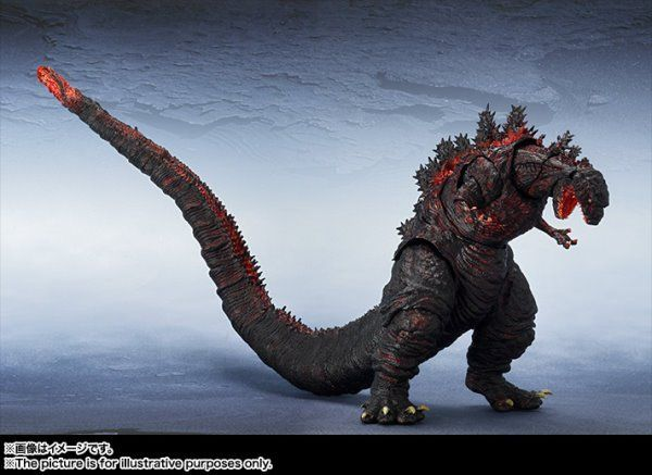 SH MonsterArts Godzilla Resurgence Figure Revealed!