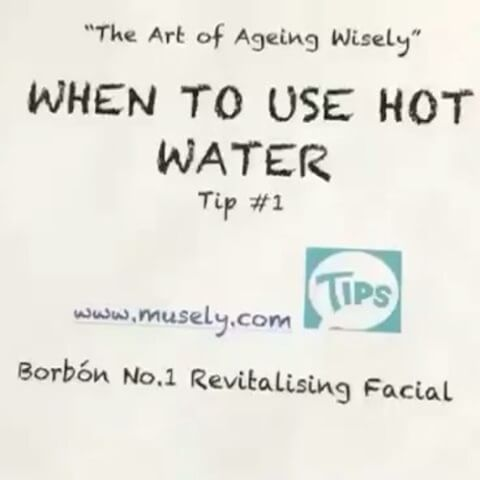 Tip #1 by Carmen Milagro on Ageing Wisely - Use This Culinary Tip & Hot Water to Clean Your MakeUp Tools Be sure to use super #hotwater and #organiccleanser or #organicsoap to clean your your #makeuptools while you sing! www.borbonskin.com Special thanx to our production team Rosalidia Dubon & Geny Katherine #cleanbeauty #greenbeauty #beauty #beautyproducts #fresh and #clean #latina  #latinaowned #culinary @musely #musely