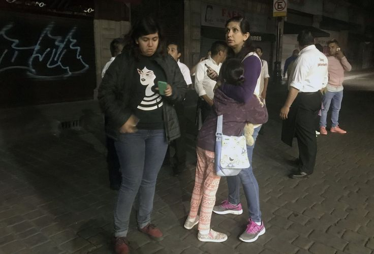 Strongest earthquake since 1985 strikes off Mexican coast