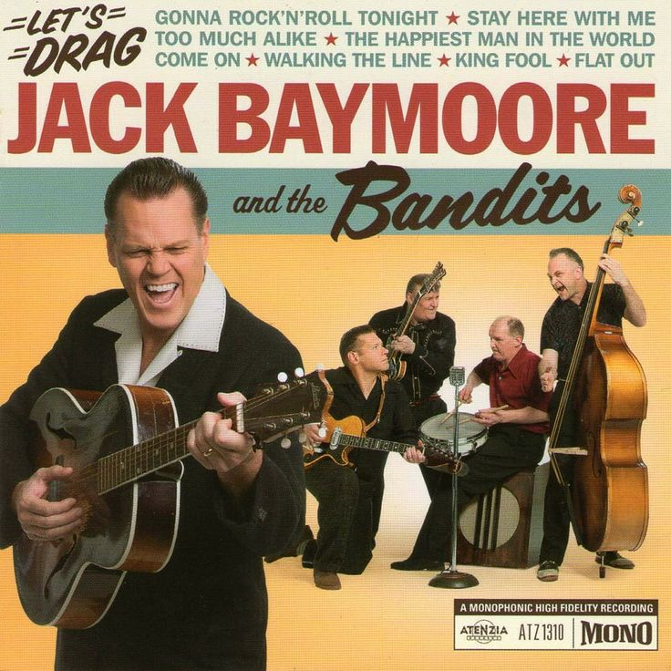 Jack Baymoore And The Bandits - CD Artenzia Records