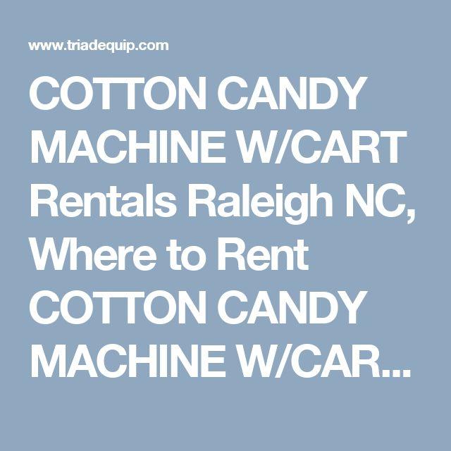 cotton machine rental raleigh nc