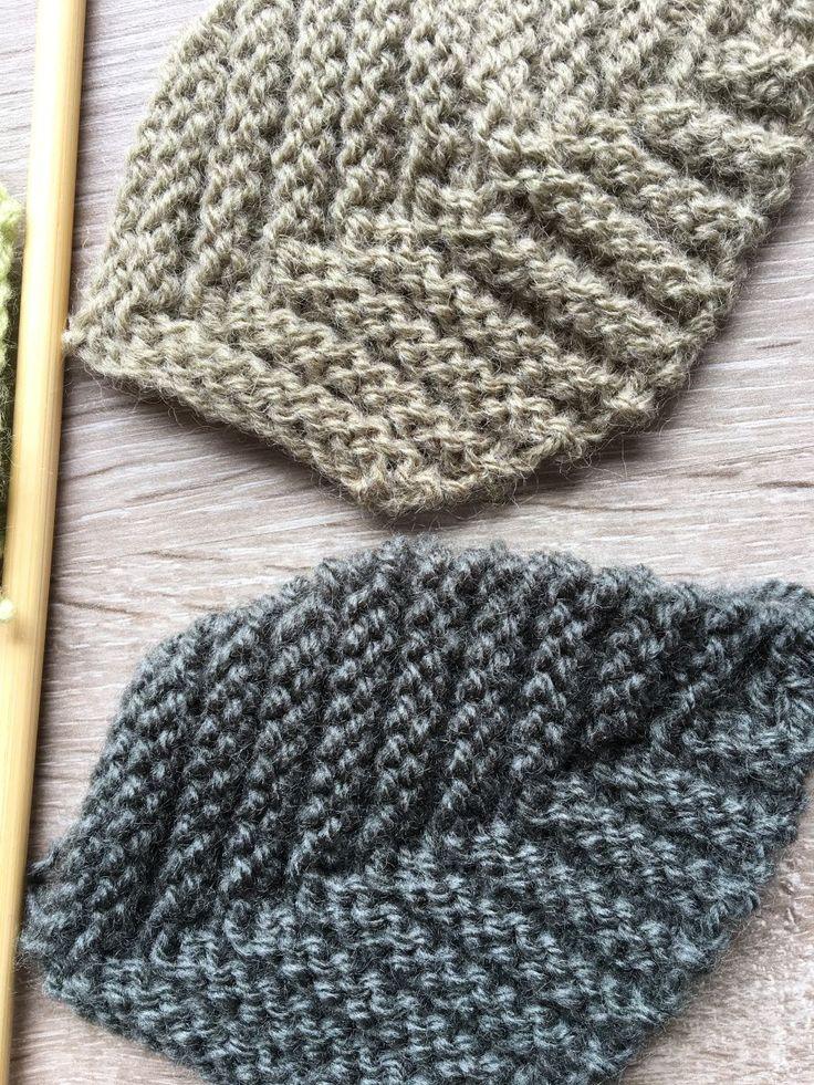 tricoter des feuilles petites mains pinterest avoir pass le tricot et agr able. Black Bedroom Furniture Sets. Home Design Ideas