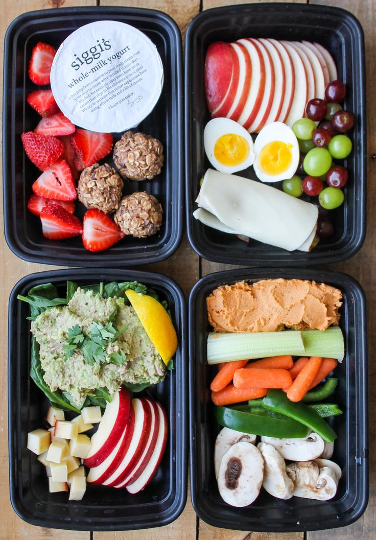 These 4 Healthy Snack Box Ideas are easy and healthy snack recipes to make ahead of time for easy grab and go snacks! Let's talk about healthy eating downfalls. For me, my biggest downfall when I'm trying to eat clean is the snack cabinet at work! The only way to combat the chips, cookies and candy calling...