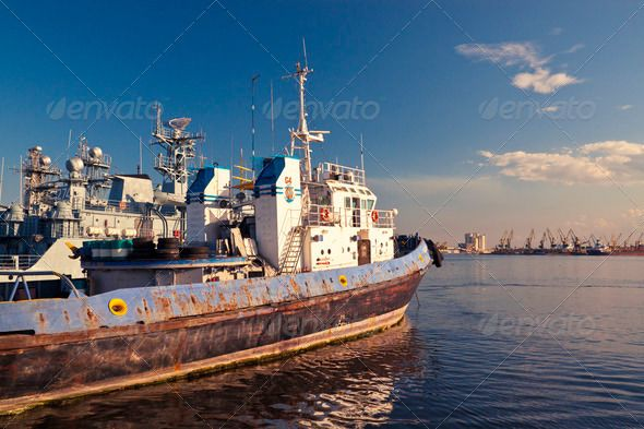 Old towboat