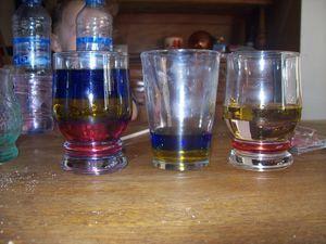 Expérience : la densité des liquides