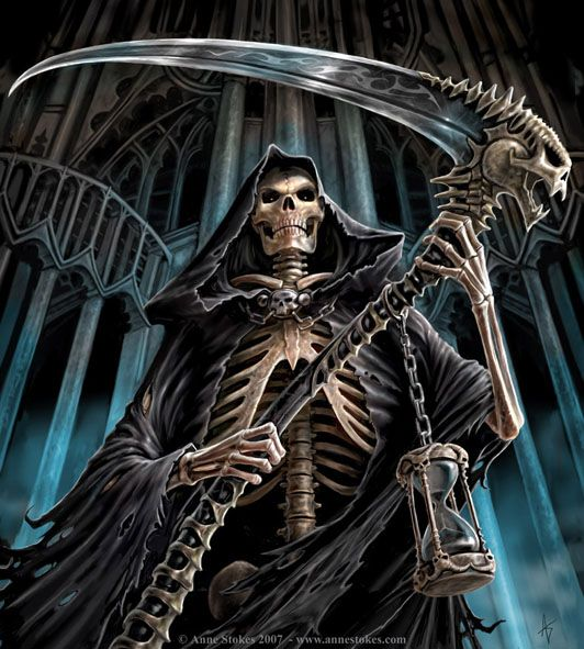 Today, designs of grim reaper tattoos incorporate other elements like colors and flowers to enhance the aesthetic appeal of this classic image.