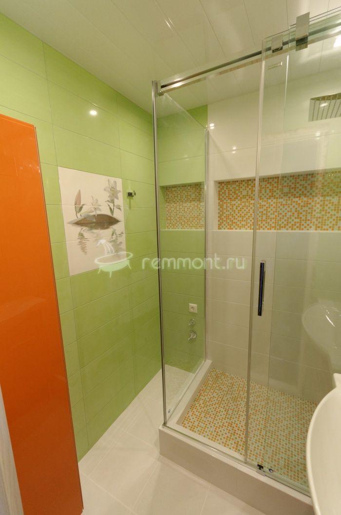 Ремонт раздельной ванной комнаты и туалета Imperia: Замена ванны на душевой угол
