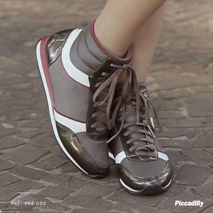 #moda #conforto #piccadilly #fashion #comfort #comfortisthenewfashion #outono #inverno #sapatos #shoes #sneakers #nice