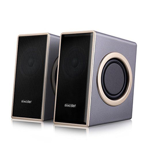 From 17.14 Home Computer Speakers Mixcder Msh169 Usb 2.0 Powered Surround Subwoofer Multimedia Speaker With Enhanced Sound Volume Control 3.5mm Audio Jack For Laptop Pc Tv Mp3 Mp4 Phone Ipad