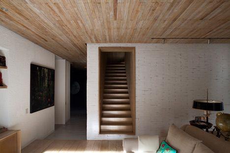 WOOD DESIGN INSPIRATION    Wood Ceilings   #wood #interiors #design: Design Inspiration, Isay Weinfeld, Stairs Risers, Wood Interiors, Yucatan Houses, Isay Weinfield, Wood Design, Interiors Design, Wood Stairs
