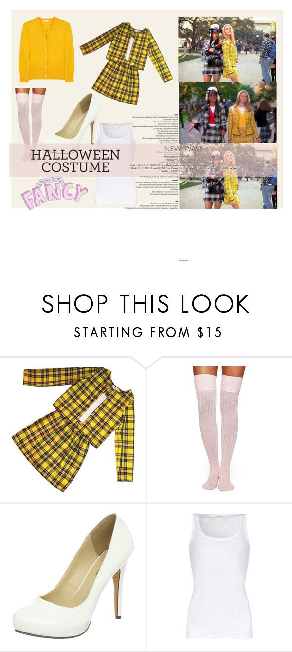 """im so fancy ;) clueless costume"" by flah-santoro ❤ liked on Polyvore featuring moda, Kate Spade, Michael Antonio, American Vintage e Halloween"