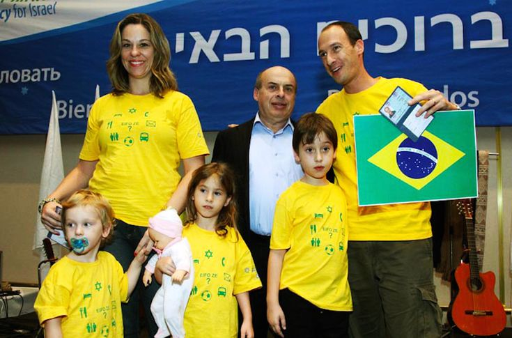 Immigration to Israel, or aliyah, from Brazil has more than doubled in the past four years, from 191 in 2011 to over 400 so far this year. The average growth in aliyah for all of Latin America in the same period was just 7 percent. Though it has approximately half the Jewish population of neighboring Argentina, Brazil has sent more immigrants to Israel for two years running. An estimated 120,000 Jews live in Brazil.