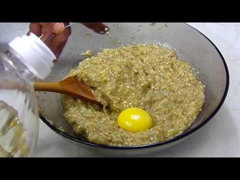 Reteta Salata de vinete cu galbenus de ou - YouTube