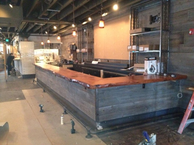 Awesome Bar Designs, Wine Bars, Bar Ideas, Restaurant Bar, Counter, Basements,  Woodworking, Construction, Layouts