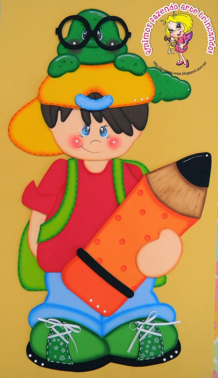 Qmimos - Fazendo Arte brincando: Painel Para Escola - Pequeno Aprendiz