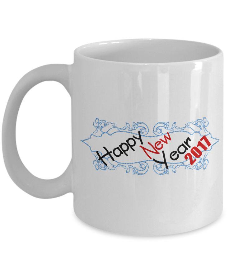 Happy New Year 2017 Classic Coffee Mug