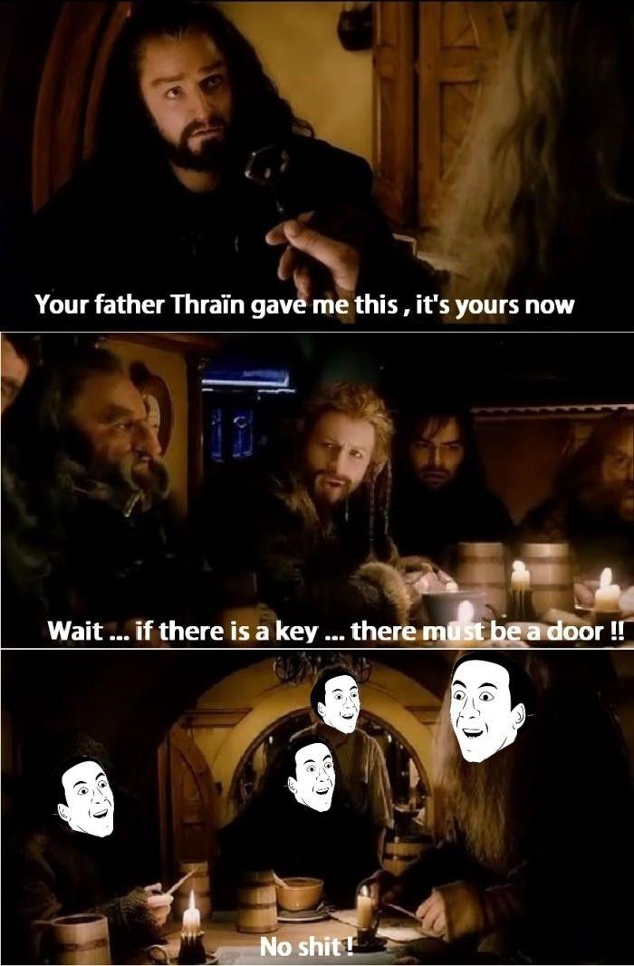 Lord Of The Rings Scene Clerks