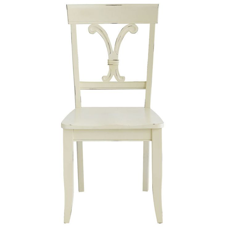 Vienna dining chair antique white pier 1 imports for Pier 1 dining room chairs