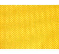 Bavlněné látky - bavlněná látka žlutá puntík
