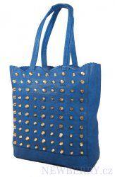 Módní dámská kabelka 2in1 Angelo modrá