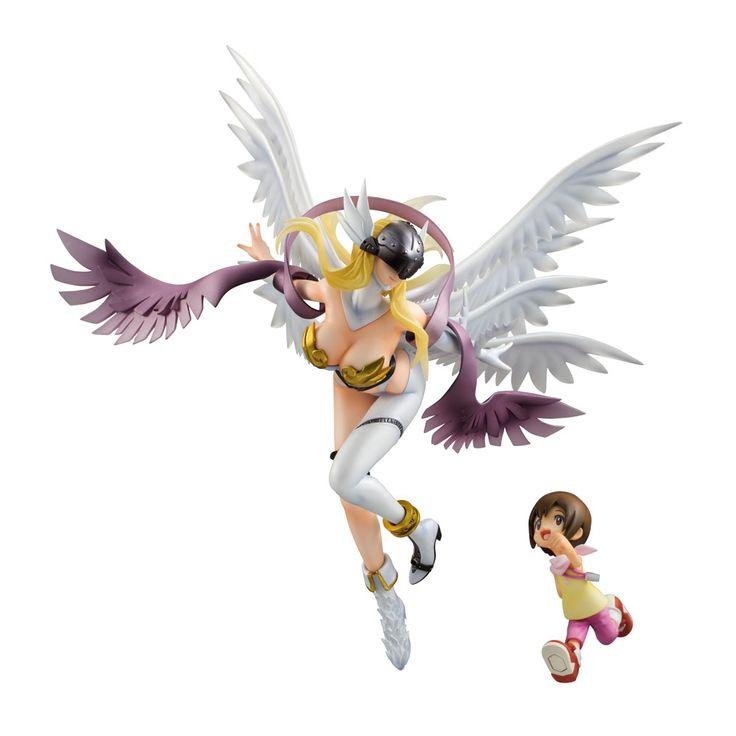 Pin By C M On H O M E In 2019: Digimon Adventure G.E.M. Series PVC Statue Angewomon