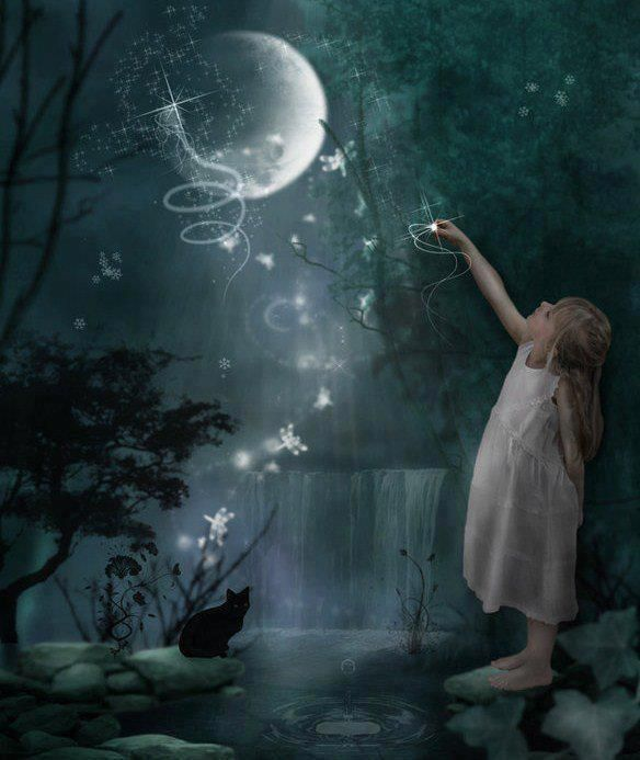 moon & stars & wishes