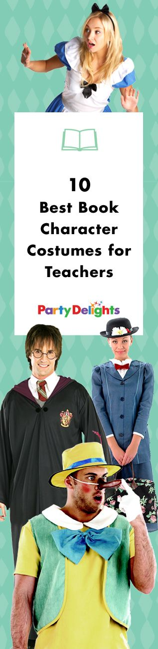 Are you a teacher looking for a good World Book Day costume? Take a look at our round-up of the best book character costumes for teachers and get your outfit sorted for Thursday 3rd March!