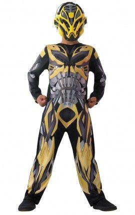 Disfraz de Bumblebee Movie Transformers 4 La Era de la Extinción classic para niño
