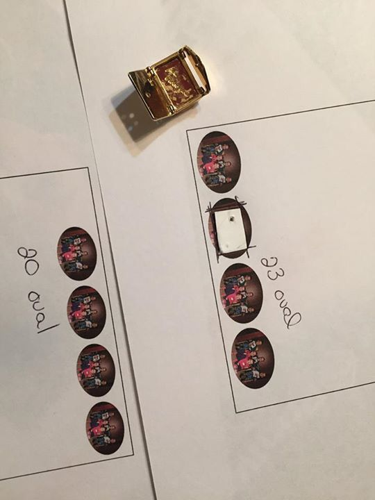 Check out this AMAZING online tool for printing locket pictures for your keep collective. For these pictures I've just used regular paper It prints more then one picture, which is nice if you mess up. You can't print different sizes or shape at the same time. It just automatically gives you additional images.  http://locketstudio.com/get-started/#