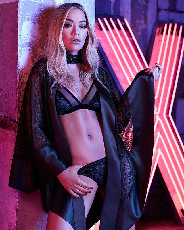 Темные мысли: Рита Ора в рекламе нижнего белья   Мода   Tatler – журнал о светской жизни