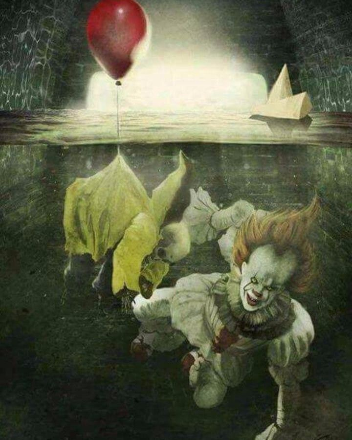 Pennywise dragging Georgie down the sewers... You'll float too! @itmovie2017 #pennywise #itmovie #itmovie2017