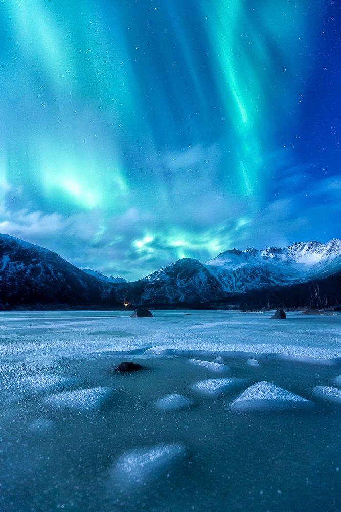 Aurora on Ice by Jens Jassen on 500px