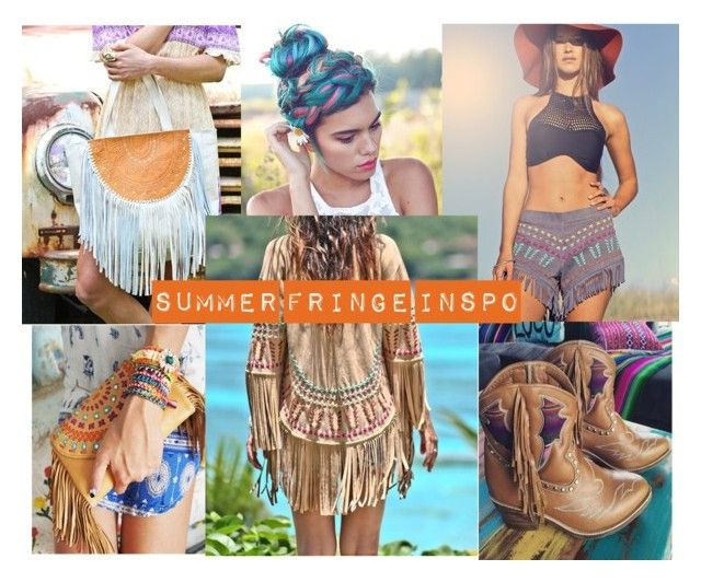 """Summer Fringe Inspo"" by mahiyaleather on Polyvore"