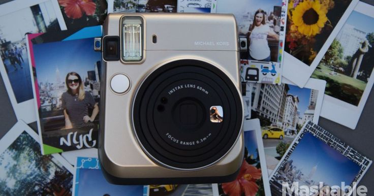 Whether you love or hate the branding, the instant camera is excellent.