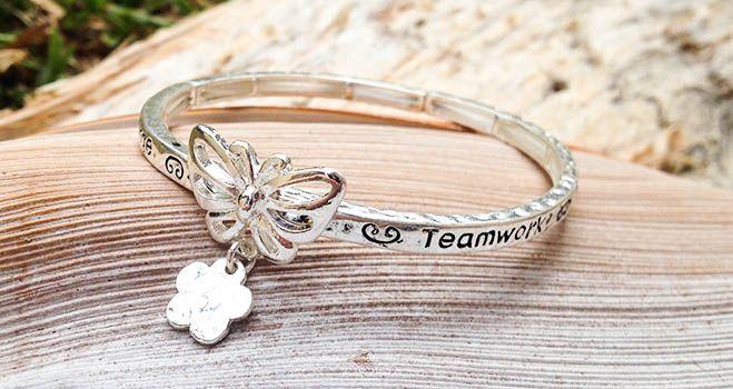 Majique Jewellery - Support Encourage Teamwork Success. Find it at www.giftedmemoriesjewellery.com.au