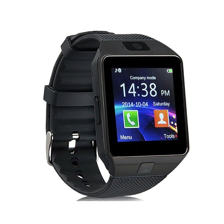 Eeoo Bluetooth Camera Smart Wrist Watch Phone with SIM Card Slot 2.0 Camera TF Card Support For Android Samsung Htc Smartphone Black. HD display,High sensitive capacitive touch screen,Perfect match technology,Exquisite craftsmanship for your luxury and comfortable experience. Note: For iphone only supports calls.there is no app available till now. Some functions are not usable to your devices including messaging, notification, remote capture, anti-lost. Insert a micro SIM card to use it as…