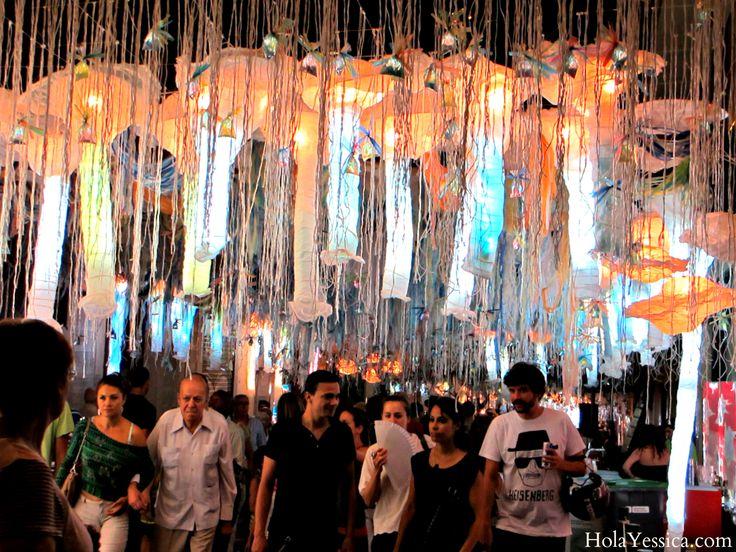 Where in Spain Wednesday - Barcelona's Festa Major de Gràcia. A.K.A. My favorite street party EVER!