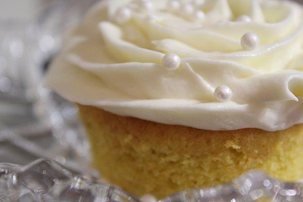 Himmelske vaniljemuffins