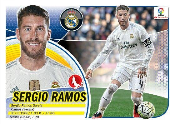 Sergio Ramos - Real Madrid - LIGA BBVA - 2016-2017 PANINI