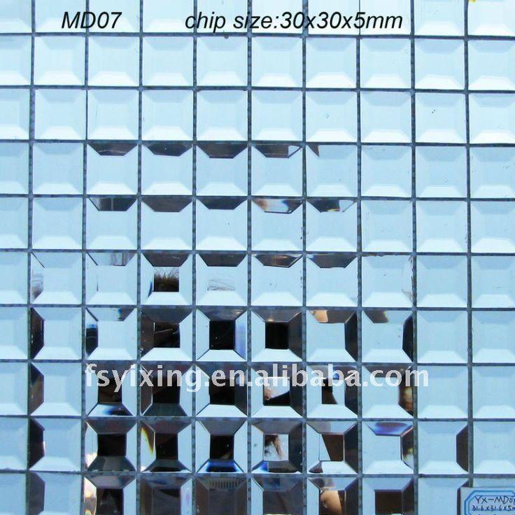 Las 25 mejores ideas sobre vidrio biselado en pinterest - Azulejos de cristal ...