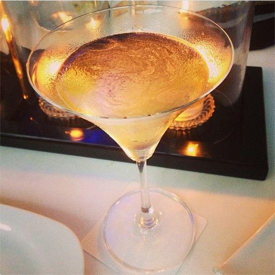 Apple Chamomile Martini Picture Courtesy: Anuja Deora