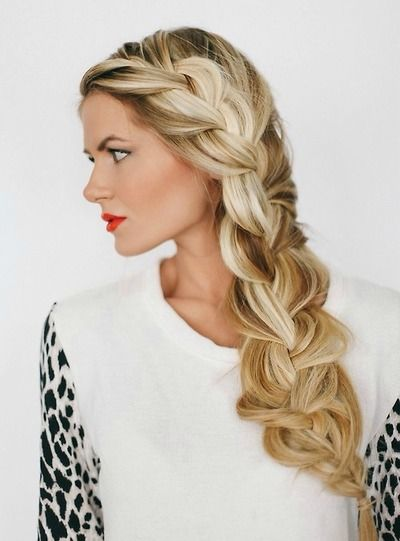 If I can figure out how to master that 5 strand dutch braid I will be the god of hair.